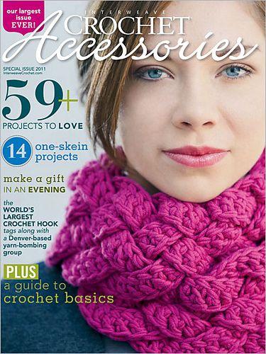Rapunzel Scarf in the Interweave Crochet Accessories 2011 special issue (designer: Kristen Hein Strohm)