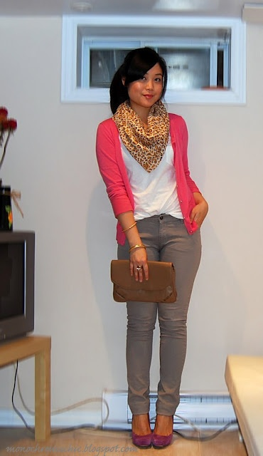 F21 tank / ZARA jeans / thrifted clutch / NineWest shoes / UO scarf