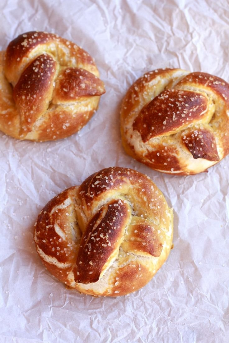 Homemade Soft Pretzels with Buffalo Cheddar Cheese Sauce - Half Baked ...