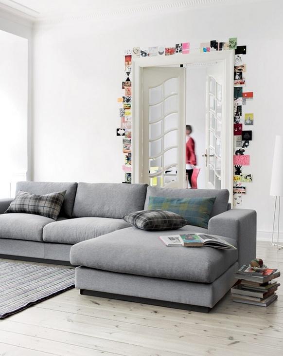 Silvia Home Decor: Sof?s Cinza? Home Decor Pinterest