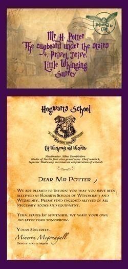 monsterbeats Harry Potter invite  Harry Potter