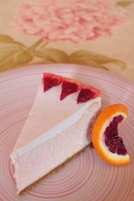 Blood Orange Cheesecake | cheesecake | Pinterest