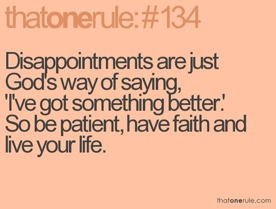 This is sooooo true! Everything happens the way it is suppose to! :)