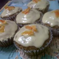 Fluffy Carrot Muffins with Cream Cheese Frosting Allrecipes.com NOTE ...