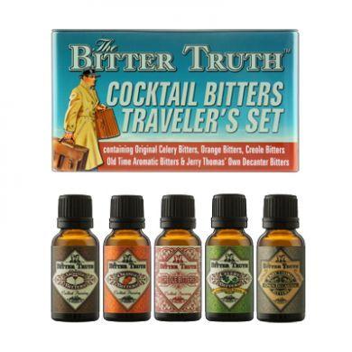The Bitter Truth - Bitters Traveler's Tin (100ml - 38.2% ABV)