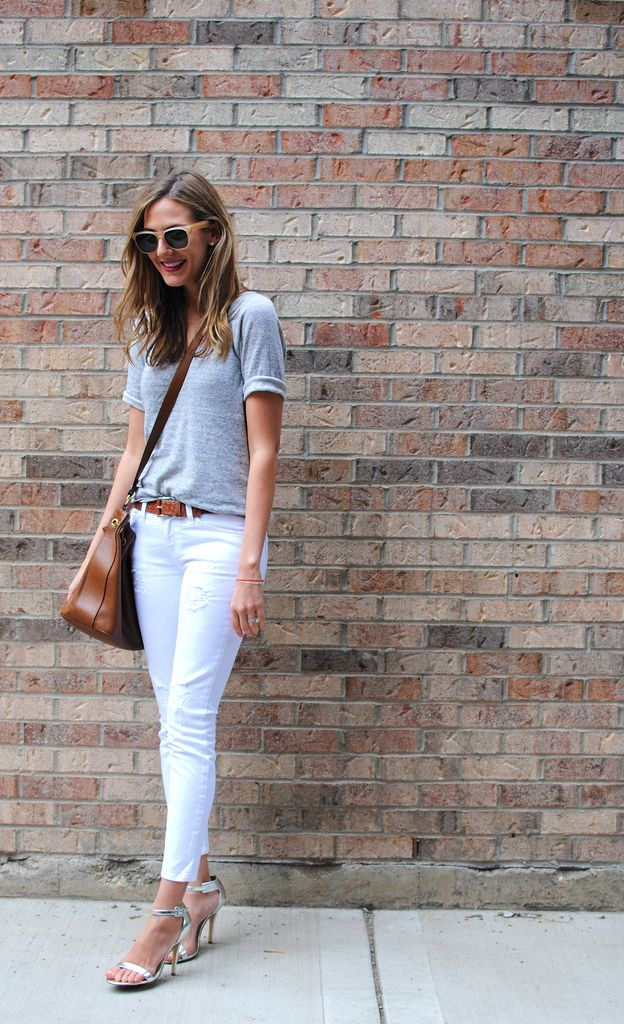 white denim done right.