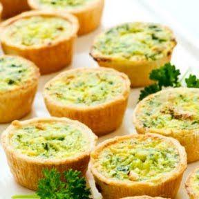 Bite-Size Quiche Cups | Food | Pinterest