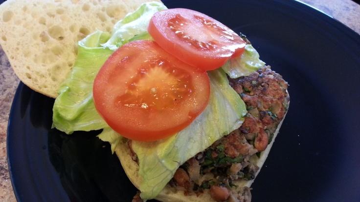Vegetarian Black Eyed Pea Burgers | Cooking | Pinterest