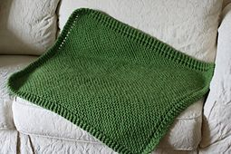 Cuddle Tight Baby Blanket - Free Knitting Pattern