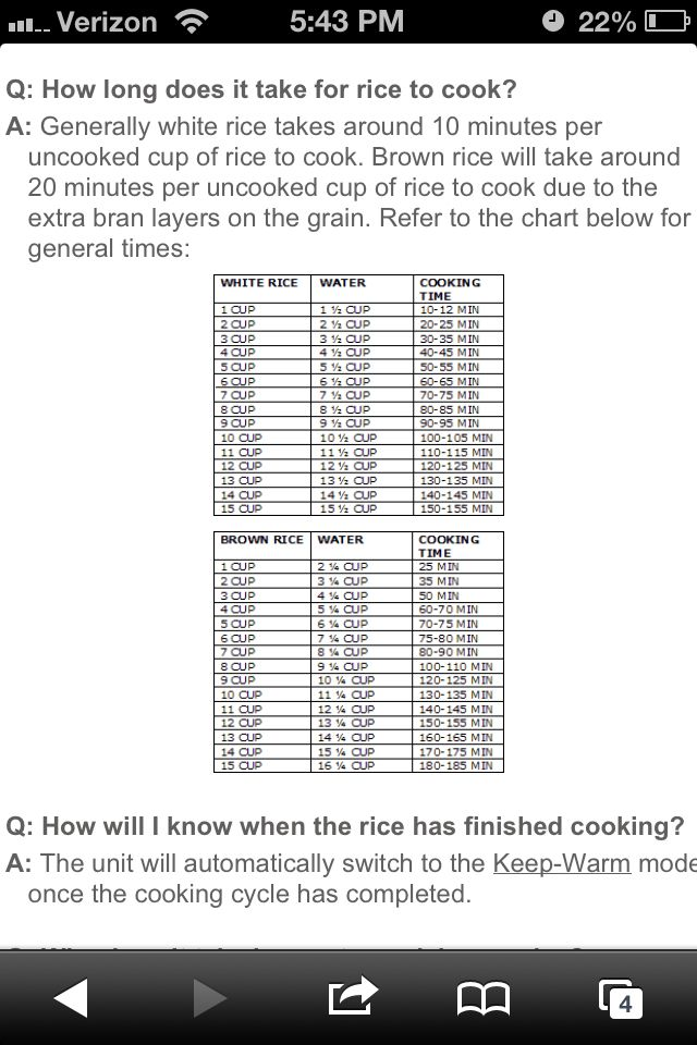 how to use rice cooker measurements