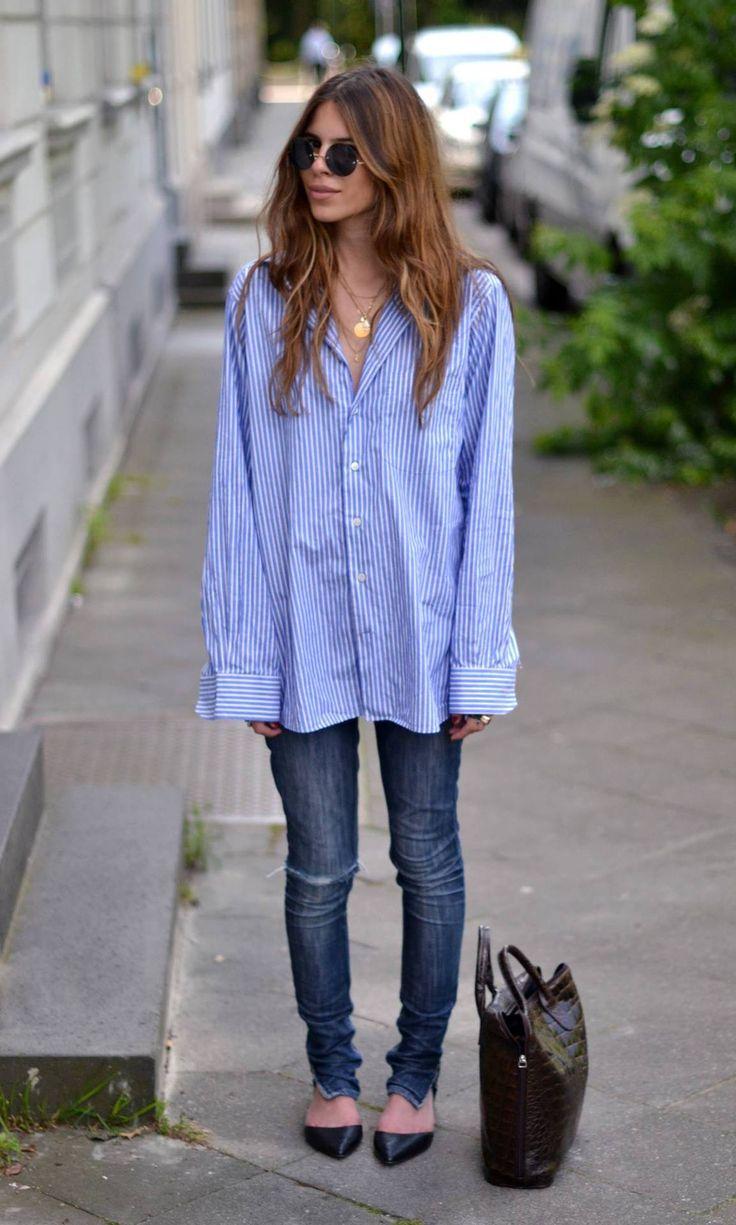 Oversized Shirt Blouse 11