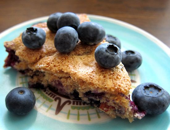 Norwegian Almond Blueberry Tea Cake by Everybody Loves Sandwiches on ...