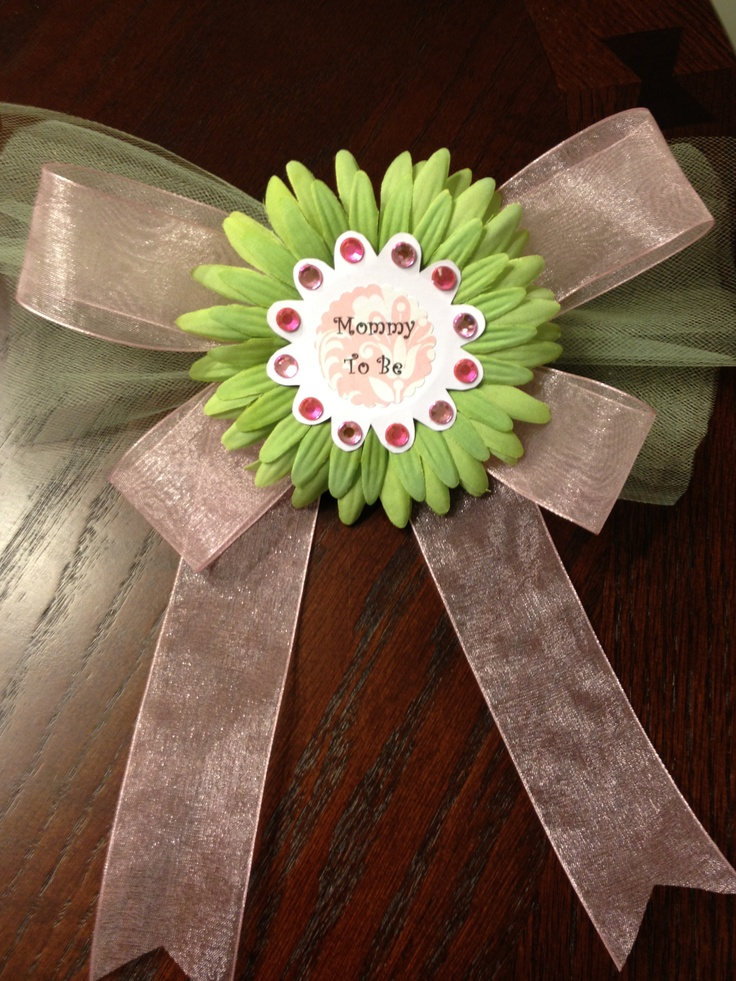 mom to be corsage baby shower party ideas pinterest