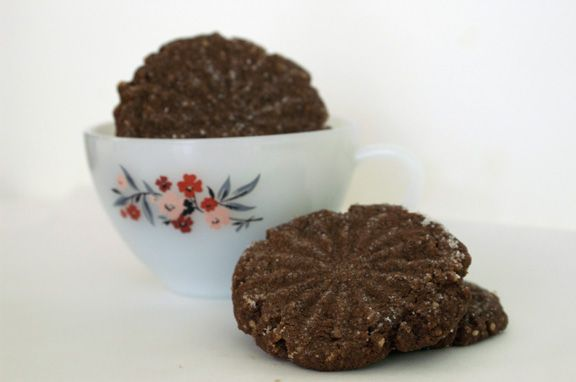 mexican hot chocolate cookies.