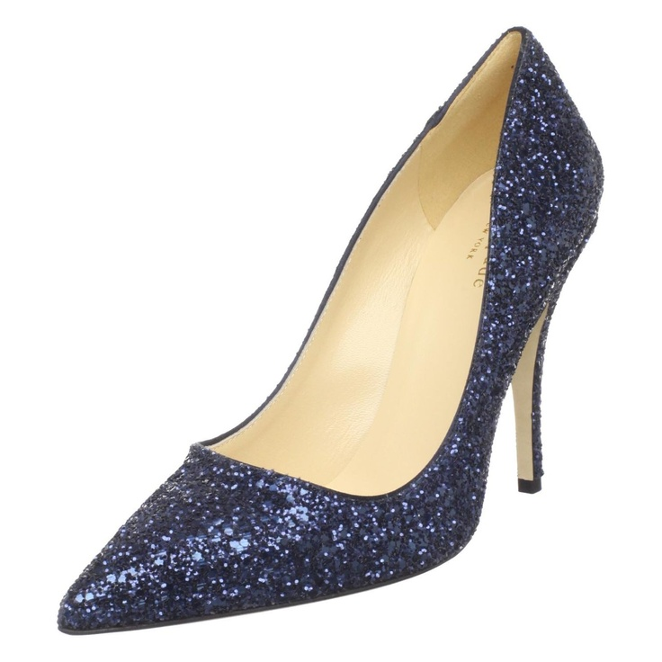 Sparkly Blue Shoes!