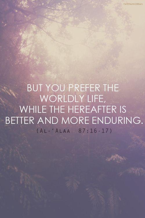 Quran 87:16-17