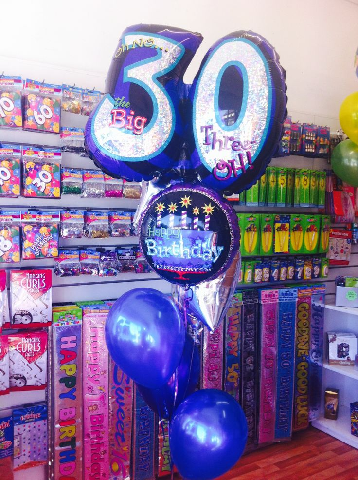 oh no the big 30 balloons wedding