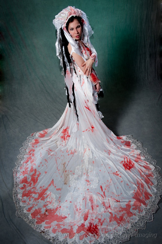 Zombie Wedding Dress For  : Zombie wedding dress for horror fans who says you have to be