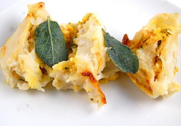 Butternut Squash Stuffed Shells x Sage Béchamel | The Kitchen Radio