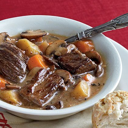 Belgian Beef and Beer Stew_ An amber Belgian beer is ideal in this ...