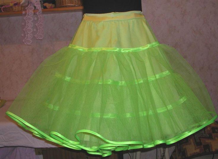 Как сшить детский подъюбник для пышного платья 836