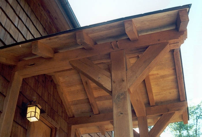 Timber Frame Porch Architectural Pinterest