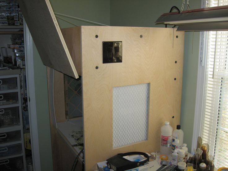 Made spray booth w door that closes decorating ideas pintere