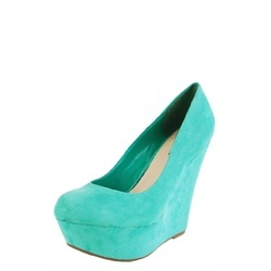 mint wedge heels $25.80