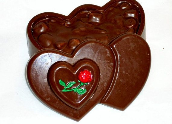 valentine heart box chocolates