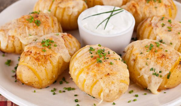 Cheesy Fan Potatoes - In the Kitchen with Stefano Faita