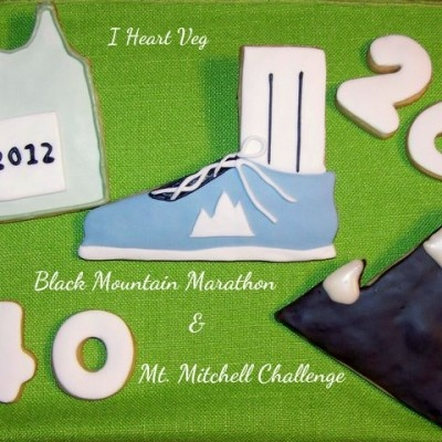 Decorated Running Marathon Sport Cookies | Party Ideas | Pinterest