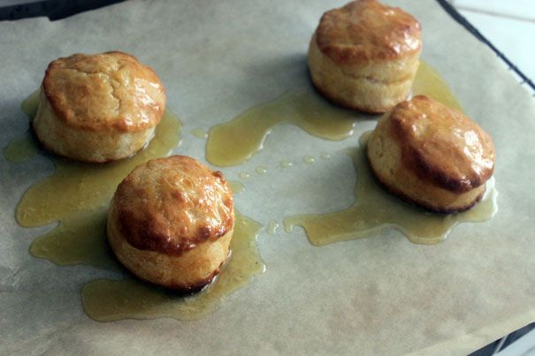 Honey Butter Biscuits | Recipes To Try | Pinterest