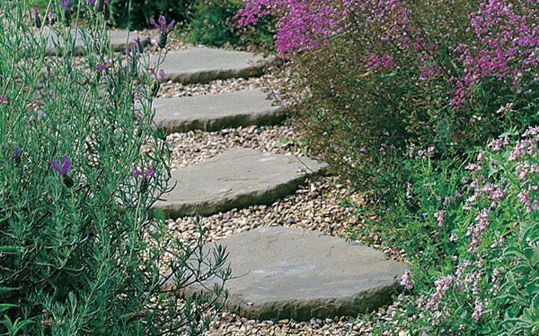 Garden Stepping Stones For The Home Pinterest