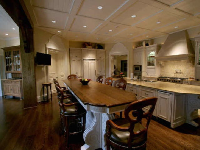 Recessed Lighting Cabin Kitchen Pinterest