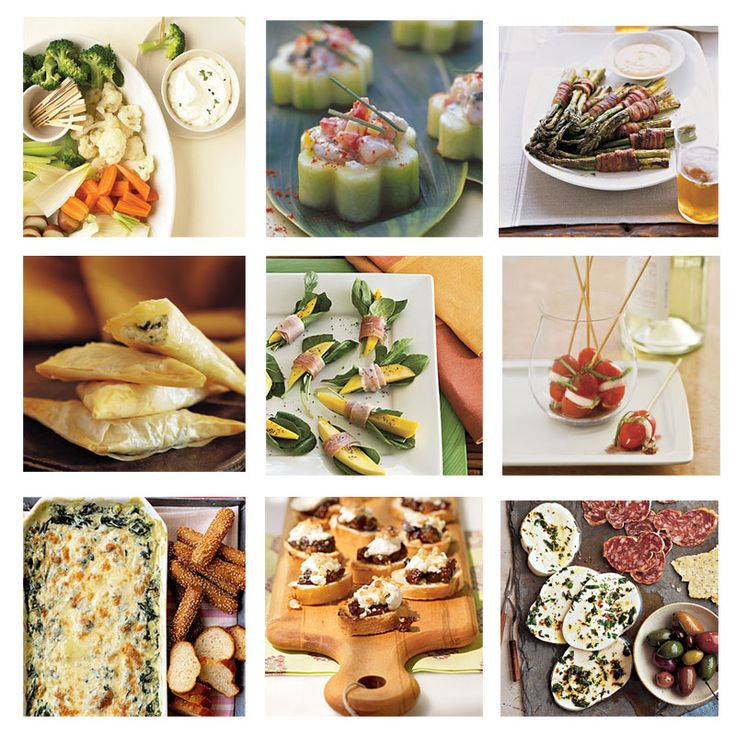 Finger foods make great appetizers for parties and celebrations such as baby and bridal showers, game day, Christmas, and other holidays. Find here delicious and easy finger food ideas!
