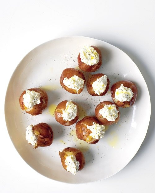 Making this tonight - Roasted Potatoes with Ricotta #foodie