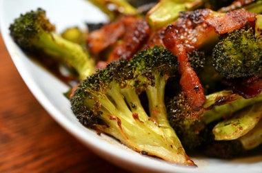 paleo roasted broccoli amp bacon punchfork