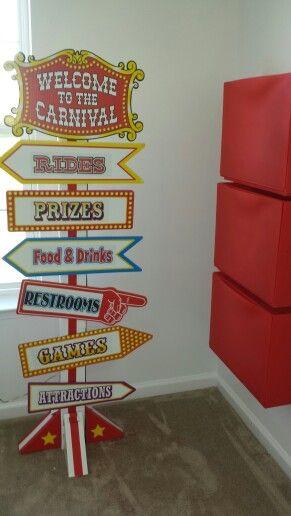 Circus Carnival Room Decor Clover 39 S Circus Themed