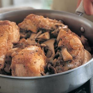 Braised Chicken with Mushrooms | Recipe