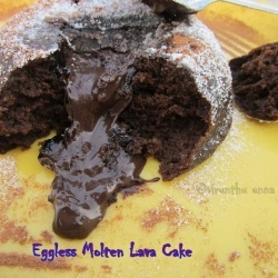 molten lava cake cake chocolate malt cake milky way midnight lava cake ...