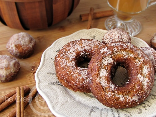 The Great Cake Company: Apple Cider Doughnuts