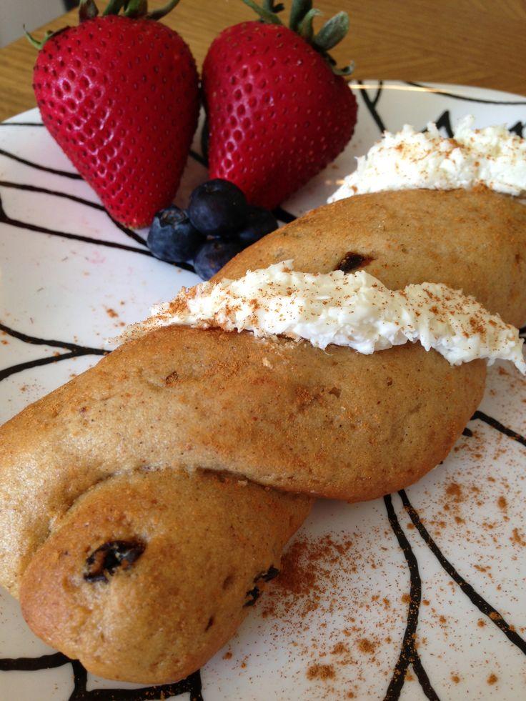 Sweet Note Bakery gluten-free cinnamon raisin twist w/ a sweet ...