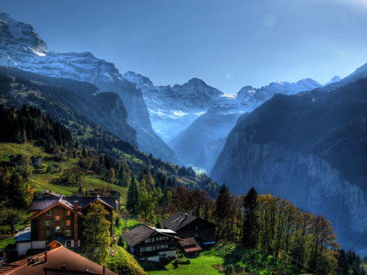 Wengen Switzerland  City new picture : Wengen, Switzerland | Switzerland | Pinterest