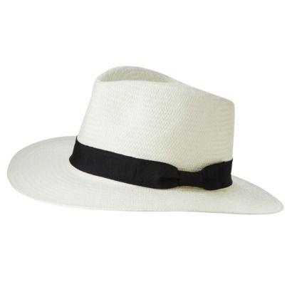 Musical Festival Dressing - My music festival hat (panama hat) and most likely a summer staple.  Scored in the Target men's department for $16.99