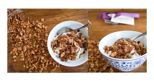 Coconut Cinnamon Granola   Recipe