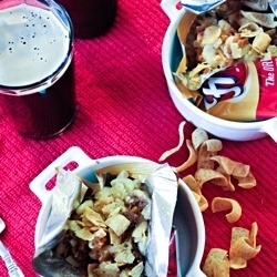 Frito Pie Mac and Cheese by littleredkitchen