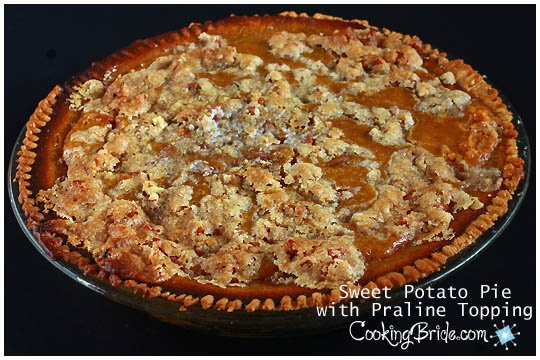 Sweet Potato Pie with Praline Topping | Pies, Tarts & Cobblers | Pint ...