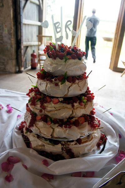 Pavlova Wedding Cake | Wedding | Pinterest