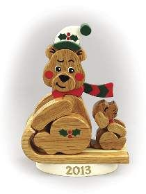 Christmas Bear 2013 | Great Woodworking Projects | Pinterest