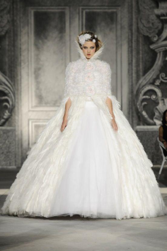 wedding dress chanel chanel pinterest